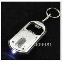 Fashion originality key chains ,multi-function key rings ,bottle opener with lighting