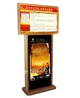 42 & 46 Inch Dual-Screen LCD Digital Signage / Kiosk+FREE SHIPPING! / standing kiosk / LCD display / LCD screen
