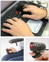 Promotion Sale!!!  2012 Free Shipping New 5Pcs/lot 1200dpi Mini USB 3D Optical Finger Mouse Mice for Laptop/PC
