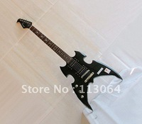 Left Handed Jazz  Electric Guitar DF06-L,High Quality Professional  Level,Black Color Classic Style,Free  shipping