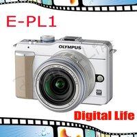 Original Olympus E-PL1 12.3MP Micro DSLR Digital Camera Free Shipping
