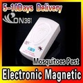 WholesaleElectronic Helminthes Machine Mouse Mosquito Disappear Repellent Mosquitoes Pest 5pcs/lot