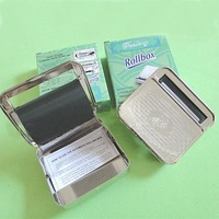 New Automatic Tobacco Roller Tin CIGARETTE ROLLING MACHINE
