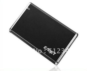 "Free-shipping   Eaget H100A 3.5"" USB 2.0 eSATA Portable External Hard Drive HDD Black 1TB 2TB via HKPAM"