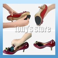 New arrive!! Wholesale High Heel Foot shoes sole Anti-slip tape rubber sticker & shoe cushion thicker black mat 20pairs/lot