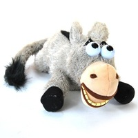 Intelligent sonic Laugh and roll electric tumbling donkey  HY35423