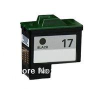 Free Shipping 17 black cartridge for Lexmark Z13/Z23/Z25/Z33/Z35/Z605/X1110/X1140/X1150 series printer