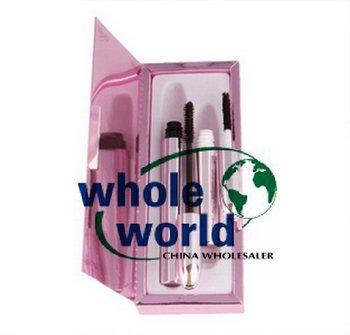 (NO.8041)  Eyelash Extension RELIAN Mascara Transplanting Gel + Natural Fiber Mascara Set, 50sets/lot,free shipping by EMS