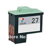 Free Shipping compatible 27 color ink cartridge for Lexmark Z13/Z23/Z25/Z33/Z35/Z605/X1110/X1140/X1150 series printer