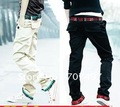 free shipping !2012 han edition leisure men's straight canister trousers