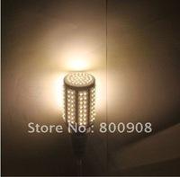hot sale/free shipping/5pcs/lot dip 166 pcs leds warm white e27 10w 360 degree led corn light