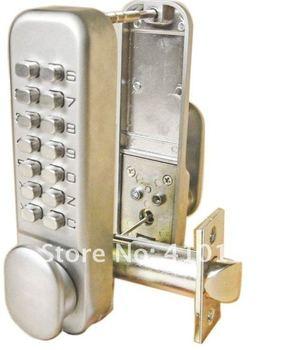 Mechanical Keypad Digital Door Handle Lock