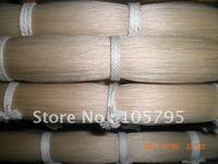 High quality 80cm white bow hair natural horse hair