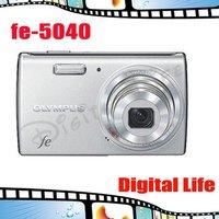 Original Olympus FE-5040 12.0MP Wide-angle 5x Zoom Digital Camera Free Shipping