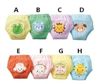 24pcs/lot  cartoon baby training pants cotton infant learning pants baby underwear shorts free shipping
