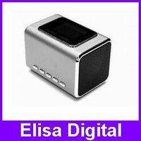 Original Music Angel MD05X mini multimedia speaker FM LCD screen USB / TF Slot High qality,RY9002