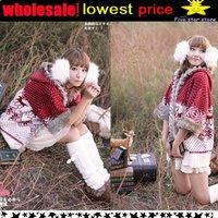 wholesale,lowest price!!collar knitwear,weave sweater, women clothes, christmas women lovely deer long sweater (NXL005-2)