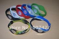 Best quality Hot selling ! 100pcs/lot  Bracelet Bands Wristbands,Silicone  hologram Bracelet