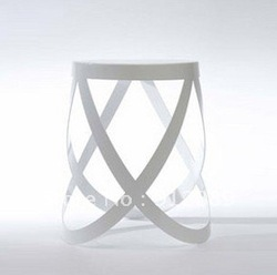 Wholesale White Metal Stool-Buy White Metal Stool lots from China ...