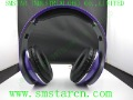 Purple Studio ON-Ear  Headphone with retail box Earphone   Free shipping