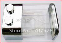 Wholesale + Low Freight European - style Double box soap dispenser TSD19 Chrome Capacily:2*450ml