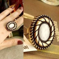 Free Shipping Retro big stones alloy fashion Finger Rings  New arrived