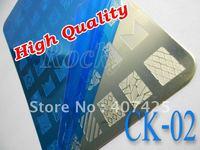 NEW!!! 42 Design XL Medium Size Konad Design Stamping Image Plate Print Nail Art Large BIG Template Seal DIY *CK-02*