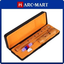 Maple Wood 8-hole Woodwind Recorder Flute Clarinet Wind instrument + Storage Case #EC256(China (Mainland))