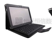 "Bluetooth Wireless Keyboard Case for Samsung Galaxy Tab 10.1"" P7510 P7500,Retail Box+Free Shipping +Drop Shipping"