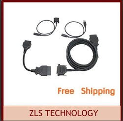 Cables for Multi-Dig Access J2534 Pass-Thru OBD2 Device(Only Cables)(China (Mainland))