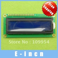 5pcs 5v 1602 LCD Display Module Blue ,free shipping