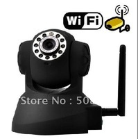 Free Shipping IP Surveillance Camera with Angle Control and Motion Detection,wifi camera