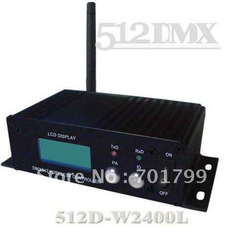 2.4G DMX512 wireless receiver/transmitter;W2400L(China (Mainland))