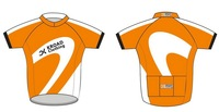 NEW Arrivals Free DHL shipping 10pcs custom team 2012 Short sleeve cycling jerseys bicycle/bike/riding jerseys