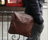 2012 fashion men shoulder bag,men PU messenger bag,Leisure bag free shipping MB018
