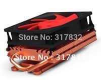 2 heatpipes 10CM more quiet Fan VGA cooler, Large area heatsinks VGA fan