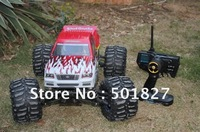 HL3850-2 Nitro Gas 4WD off -road Engine-powered Monster Truck 28CXP rc Car 1/8 two-speed 80KM/h with LCD Digital Transmitter