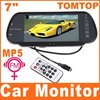 7&quot; Color TFT LCD Car Rearview Monitor SD USB MP5 FM Transmitter Car DVR K380  Free Shippinrg Dropshipping Wholesale