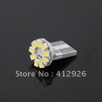 20pcs/lot 901745-AX-0044  T10 SMD 3020 9-LED Lamp Bulb Light for Car Vehicle Automobile - White Light   free shipping