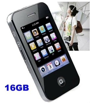 Fashion Brand New Full 16GB Portable MP4 Player with Camera Speaker 2.8 inch Touch Screen