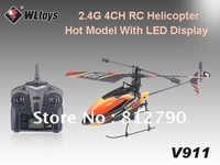 2013 Hot Model WL V 911 2.4G 4CH Single-Propeller RC Helicopter without any accessories