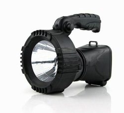 LED solar light,waterproof 3W Solar Rechargeable Search LED Spotlight Light Lamp(China (Mainland))