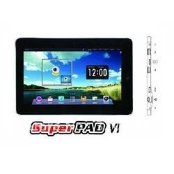 original HOT Mobile cheap FlyTouch 6th Superpad Google Android 4.0 10.1 inch 8GB 1080P Video 3G GPS Resistive Screen Tablet PC(China (Mainland))