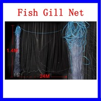 Fishing Fish Trap 24M x 1.4M Monofilament 3 Layers Gill Net