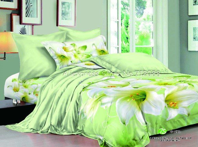 floral pattern apple green duvet quilt cover sets queen full bedjpg bed mattress sale. Black Bedroom Furniture Sets. Home Design Ideas