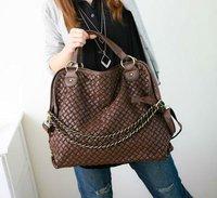 Сумка через плечо 2013 New Fashion Women's Shoulder bag Tassel Purse PU Leather Tote Handbags Ladies Casual Hobo Satchel NB0003