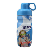 Locklock Finger cqua hap745b sports bottle 350ml blue