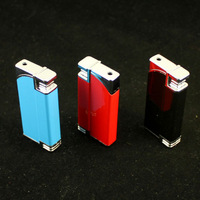 Shock toys windproof electric lighter novelty electric toys
