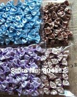 Cute Mini Ribbon Bow with dot  for Hand Craft Decorate  32-35mm