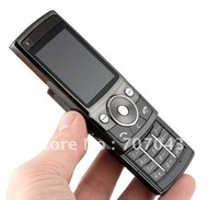 Free shipping 5MP Camera FM Radio Bluetooth MP3 Player Slide Cell Phones  G600